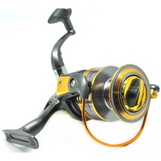 Debao Alat Gulungan Pancing DB6000A Metal Fishing Spinning Reel 10 Ball Bearing Reel Pancing Ikan Laut Sungai Fish Bahan Metal Aluminium Anti Karat Stainless Steel Gear Berkualitas for Rivers Tarikan Kuat - Gold