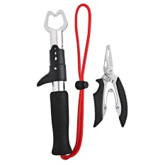FS-1005 2 Pcs Fishing Penjepit Tang Grip Clamp Outdoor Alat (Merah)-Intl