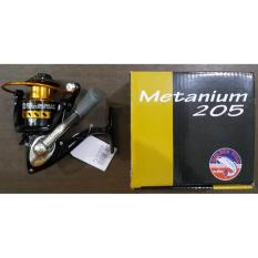Reel Metanium MT 205 Spining Reel 5bb Alat Pancing Golden Fish