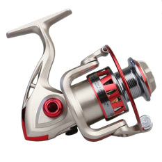 VR_Tech 2015 Berkualitas Tinggi Keemasan Alat Penggulung Spinning Reel Pancing FixedSpool REEL 10 BB + Document Retrieval 5.5: 1 Coil Memancing-Intl