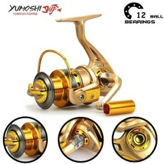 Yumoshi Carp HF500 12BB Feeder Metal Body Big Spinning Fishing Reel Fishing Reels Shimano - intl