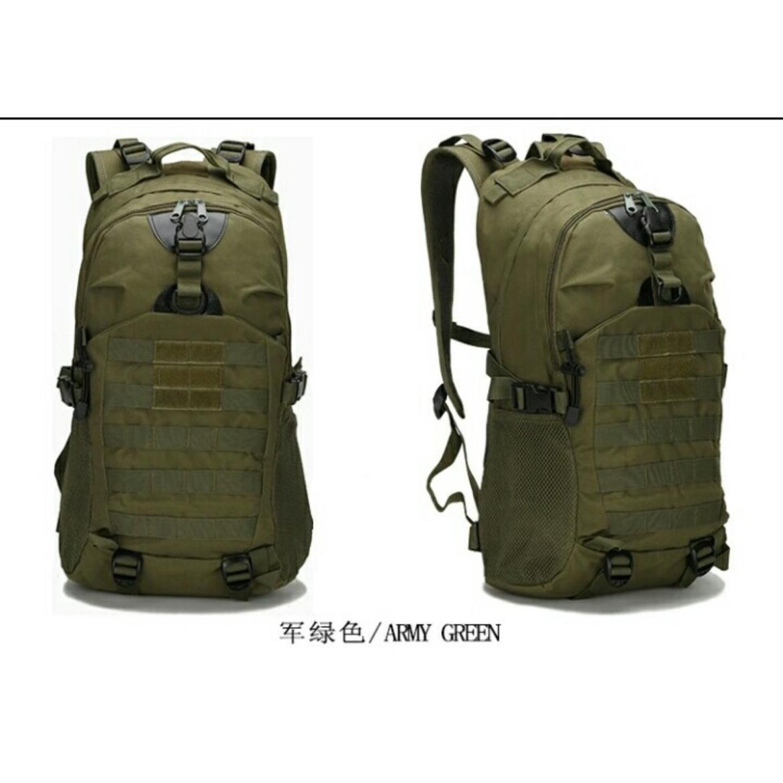 Army Edition Tas Survival Tas Naik Gunung Tas Loreng Tas Punggung Army -  Hijau 6c71355106