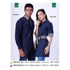 Baju Kemeja Pria (Couple Series) Garsel Fashion FDM 0841