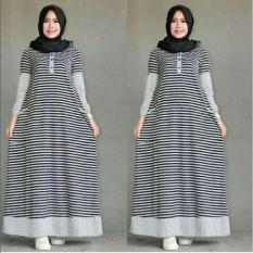 BAJU MUSLIM KASUAL SALWA DRESS GAMIS HIJABER