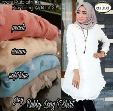 Baju Muslim Tunik Ruby Long T Shirt Murah