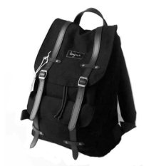 Bonjour Tas Ransel Alphonse Backpack Laptop - Black