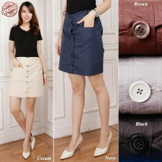 Cj collection Celana rok pendek hotpant wanita jumbo short pants mini skirt Celine
