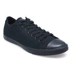 Converse Chuck Taylor All Star Lean Low Top Sepatu Sneakers - Black/White