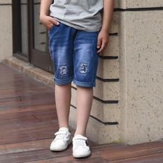 Cutevina - Boys Fashion Short Jeans / Celana Pendek Anak Big Size (GZ5016)