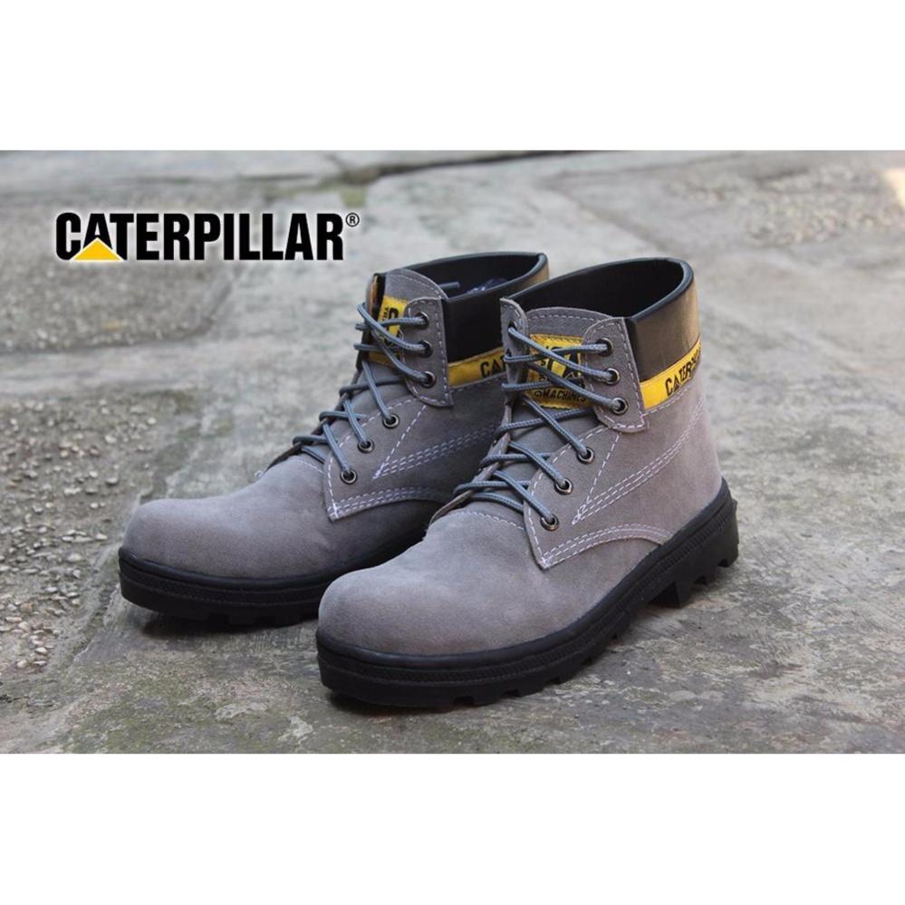Fashionable DOZN Sepatu boots caterpillar - caterpilar safety boots ABU 1b55cf0875