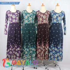 GAMIS JERSEY 10/BAJU GAMIS/FASHION MUSLIM/DRESS MUSLIM/LONGDRESS