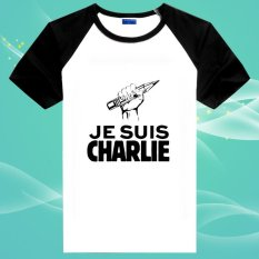 Je Suis Charlie Hebdo Homage I am Charlie 2 100% Cotton O Neck Unisex Insert Short Sleeve T Shirts - intl