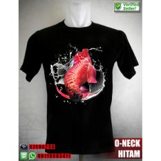 Kaos Arwana Super Red White Water