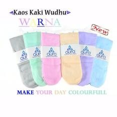 Kaos Kaki Wudhu 6 Warna ( 1 set 6 warna )