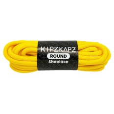 KipzKapz RS57 Sunlight Yellow 115cm - Tali Sepatu Bulat / Round Shoelace