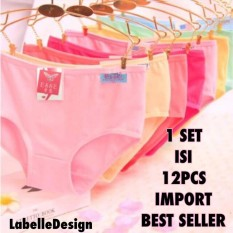 Labelledesign 12PCS IMPORT CELANA DALAM UNDERWARE HIGHQUALITY