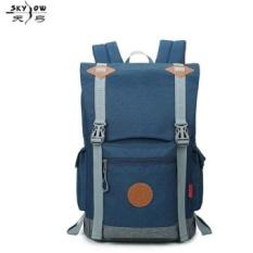 Pria Ransel Hot Jual Laptop Travel Bag Tahan Aus Oxford Baru Terbaik Laptop Backpack Fashion Leisure Tas Pria Z100 -Intl