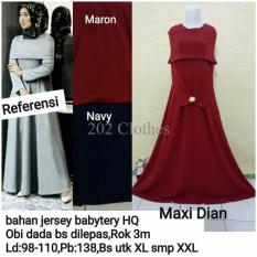 Queen Maxi Dress Gaun Pesta Modern- Kebaya Modern Dian [SALE]