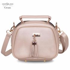 Quincy Label - Tas selempang MJ tassel - Cream