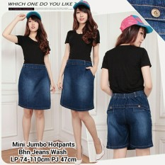 SB Collection Celana Pendek Ruri Jumbo Hotpants Jeans Rok Wanita