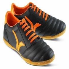 Sepatu Futsal / Olahraga Pria Kulit Hitam Golfer GF.911 Diskon