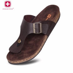 Swiss Hunter Magnus Sandal DarkBrown
