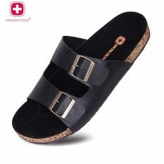 Swiss huntter - Bucky sandal Black