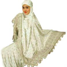 Yuki fashion Mukena Zaskia 3 - Putih - Best Seller