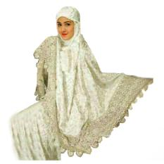 Yuki Fashion Mukena Zaskia 1 - Putih - Best Seller
