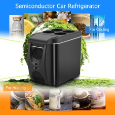 12v Mini Car Freezer Cooler Warmer 6L Electric Fridge (Black) - intl