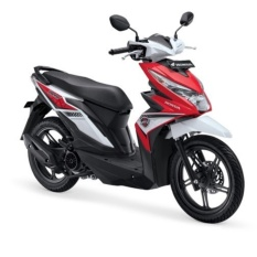 ALL NEW BEAT SPORTY ESP CBS - FUNK RED BLACK KOTA BALIKPAPAN