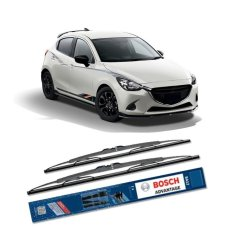Bosch Sepasang Wiper Kaca Mobil Mazda 2 2015-on Advantage 22