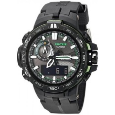 Casio Mens PRW-6000Y-1ACR Pro Trek Black Analog-Digital Jam Tangan Olahraga-Internasional