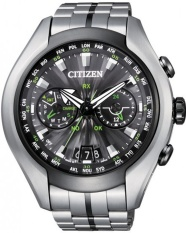 Citizen Eco-Drive Satellite Wave-Air CC1054-56E - Jam Tangan Pria - Silver