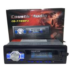 Coustic audio CO778Mp3 tape mp3 Usb radio