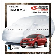 Custom Sarung Mobil Body Cover Penutup Mobil Nissan March Fit On Car