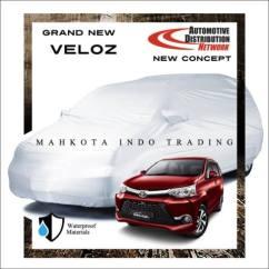 Cover Grill Grand New Avanza Black Harga Depan Chrome Toyota Veloz 2015 Custom Sarung Mobil Body Penutup 2016