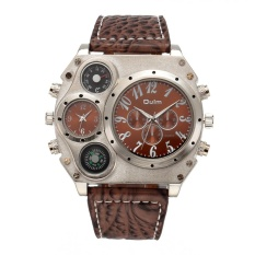 Enuxury Merek Writ Double Quart Port untuk Ou Watch (Kopi)-Intl