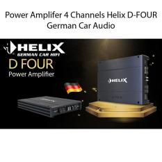 Helix D-Four 4-Channel Class AB Power Amplifier German Car Audio