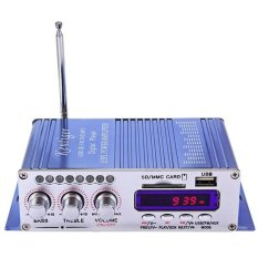 HY-502 USB FM Audio Mobil Stereo Amplifier Radio MP3 Speaker LED Hi-Fi 2 Channel Digital Display Power Player Dukungan CD DVD For Auto Kendaraan Motor-Intl