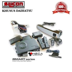 iSmart Alarm SILICON Khusus DAIHATSU Smart Passive Keyless Entry / Alarm Mobil Pintar Canggih / Handle Sensor / Auto Starter / Push Engine Start Button