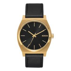 Jam Tangan Pria Nixon A0452639 Strap Leather Black