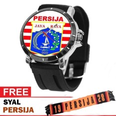Jam tangan supporter Persija  Limited Edition Bonus Syal The Jak Love Indonesia