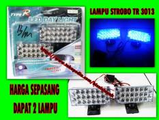 Lampu LED Strobo Flash Variasi Motor Mobil / LED DAY LIGHT 3013