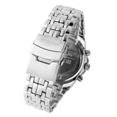 MENS CURREN STAINLESS MODERN CHRONOMETER WATCH PUTIH 8084-Internasional