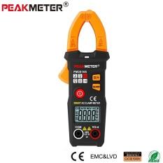 Resmi Peakmeter PM2016S Pintar Mini Digital AC Penjepit Meter Multimeter dengan Ketahanan Frequency Data Tahan Ncv Penguji-Internasional