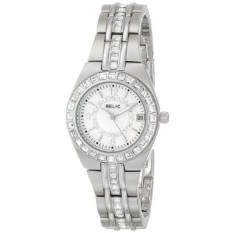 Relic Womens ZR11788 Queens Court Silver-Tone Watch-Intl
