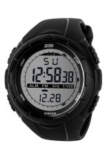 Skmei 1025 Digital Watch Sporty Watch - Hitam Kualitas Original Garansi 1 Bulan