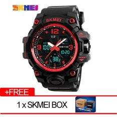SKMEI  Merek Watch Pria Mewah Analog QUARTZ Digital LED Elektronik Jam Tangan 1155B-Intl