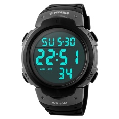 SKMEI  Watch 1068 pria Shock melawan pasukan militer Watch LED Digital Watch Relojes pria jam tangan Relogio Masculino 2016  - intl